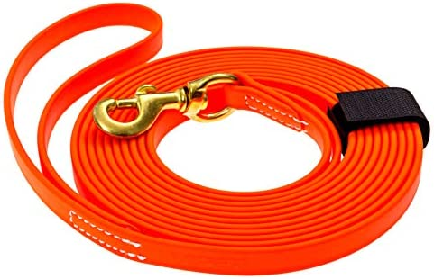 Viper Biothane Working Tracking Lead Leash Long Line for Dogs 2 Colors and 6 Sizes product image