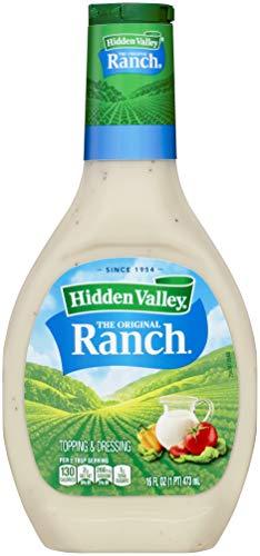 Hidden Valley Original Ranch Salad Dressing & Topping - Gluten Free - 16oz Bottle