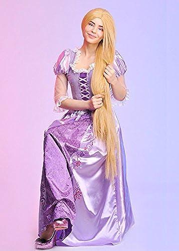 comprar ahora Disfraz de Rapunzel Disney para mujer mujer mujer Adulta Medium (UK 12-14)  seguro de calidad