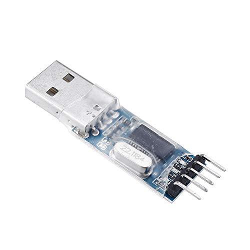 Módulo electrónico PL2303 USB for módulo adaptador RS232 TTL Converter con cubierta a prueba de polvo PL2303HX for A-r-d-u-i-n-o - productos que funcionan con placas A-r-d-u-i-n-o oficiales 5pcs Equip