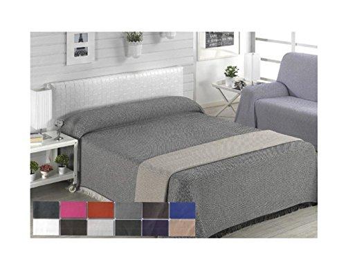 Colcha multiusos / Cubre sofás / Sobrecamas y colchas / Manta color liso para sofá 3...
