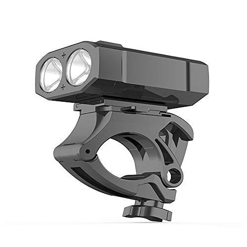 Fahrradbeleuchtung Fahrradscheinwerfer mit 5 Leuchtmodi,Wasserdichtes USB Wiederaufladbar,LED Starke Helle Nacht 600 Lumen für Gebirgsrennrad MTB