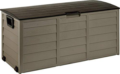 Starplast 34–811 faltbare Kissen-Box, Mokka-Farbe,114x 52x 56cm