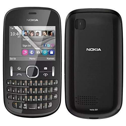 Nokia Asha 201-2mp, Mp3, Só Funciona Vivo PRETO - Novo