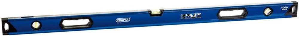 Draper DL80 Livello Sezione Casella Vista Laterale Blu 600 mm