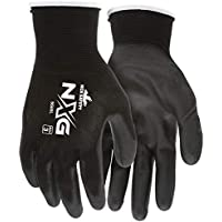 MCR Safety 9669L Nylon Knitted Shell Glove, Large (Black)