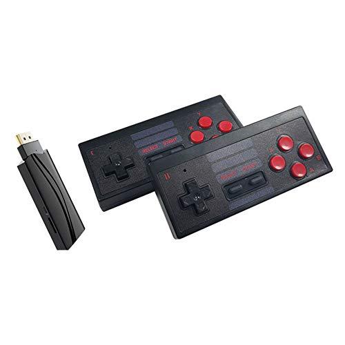 RYRA Mini consoles de jeu classiques, jeu de console sans fil USB Construit en 628 Jeu classique Mini contrôleur rétro 8 bits Sortie HDMI Double lecteur