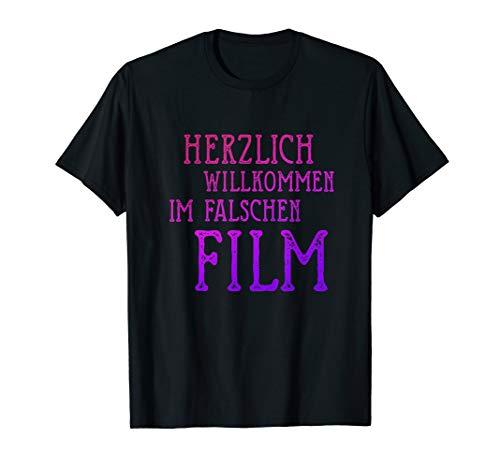 Herzlich willkommen im falschen Film, Kino Geek T-Shirt