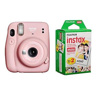 Fujifilm Instax Mini 11 Instant Film Camera - Bundle with instax Mini Instant Daylight Film Twin Pack, 20 Exposures from FUJIFILM