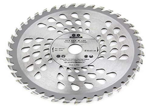 Hoja de sierra circular para madera (160 x 16 mm, 40 dientes)