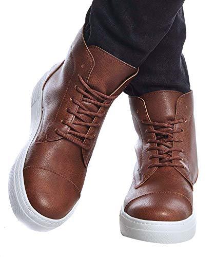 Leif Nelson Herren Schuhe Klassische Stiefel Freizeitschuhe Boots Elegante Winterschuhe Männer Sneakers LN158; 43, CA