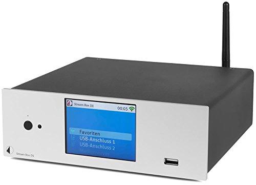 Preisvergleich Produktbild Pro-Ject Stream Box DS (silber) Highend Audio mit Wi-Fi,  LAN,  USB