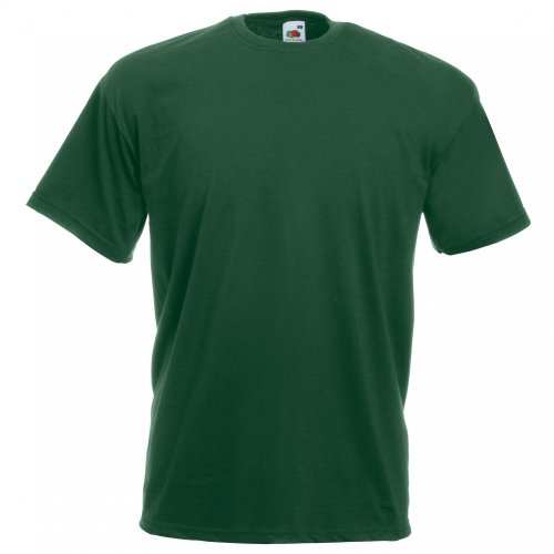 Fruit of the Loom T-Shirt (Valueweight), 27 Colori, Piccolo a - Bottle Green - M