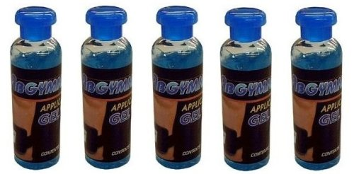5x100ml Original ABGYMNIC Highly Conductive Gel for TENS, EMS and other Toning...