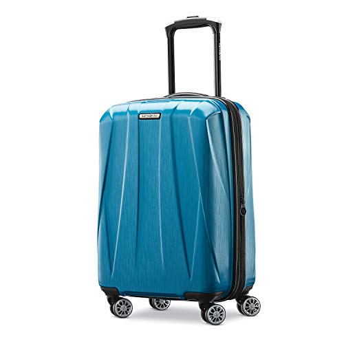 Samsonite Centric 2 Hardside Expandable Luggage with Spinner Wheels, Caribbean Blue, Carry-On 20-Inch