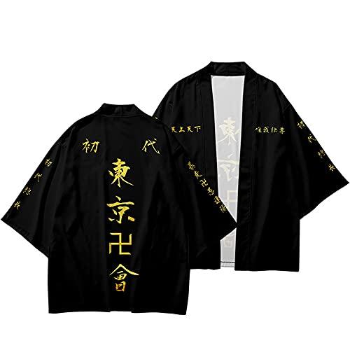 Tokyo Revengers Kimono Draken Mikey Capa Anime Caracteres Cosplay Disfraz Cárdigan Bata Adulto Niños Camisa Chaqueta Haori