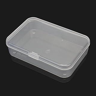 Nabati Nabati? 2pcs plástico transparente claro caso de almacenamiento Caja Colección contenedor con tapa 8,8* 6* 2cm