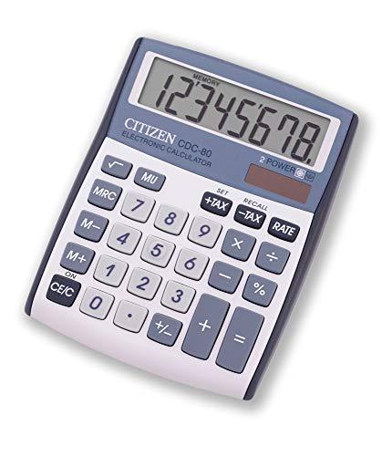 Citizen CDC-80 - Calculadora, color plata