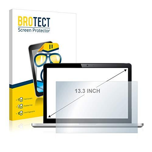 BROTECT Schutzfolie für Notebooks mit 33.8 cm (13.3 Zoll) (294 mm x 165.5 mm, 16:9) - klare Bildschirmschutz-Folie