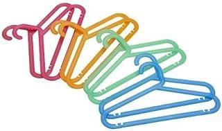 TENNBOO Children's Colored Coat Hanger, 8 Pieces