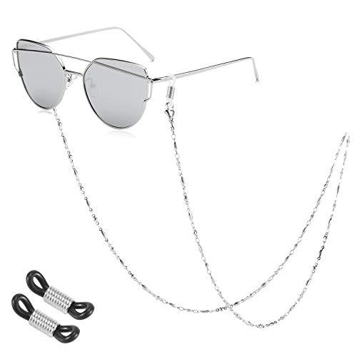 SAM & LORI Eyeglass Chain Strap Holder Necklace Women Reading Eyewear Retainer