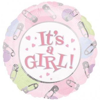 Dots & Pins- C'est une fille Ballon en aluminium