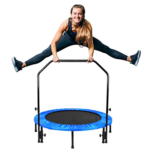 Folding Mini Trampoline NordicTrack Cardio Training Nordic Light Gym Workout