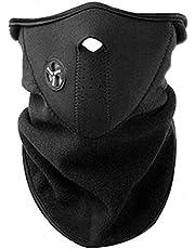 AKORD neopren hals ansiktsmask slöja sport motorcykel skida, svart, storlek passar alla