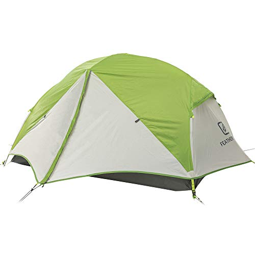 Featherstone Outdoor UL Peridot Backpacking 2 Person Tent for Ultralight 3-Season Camping and Expeditions