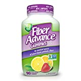 FiberAdvance Gummies: Plant Based Fiber for Digestive Health, 90ct (30 Day Supply)