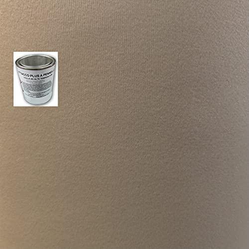 Kit rivestimento tessuto cielo tetto auto beige originale + colla varie misure (2,5 MT + COLLA)