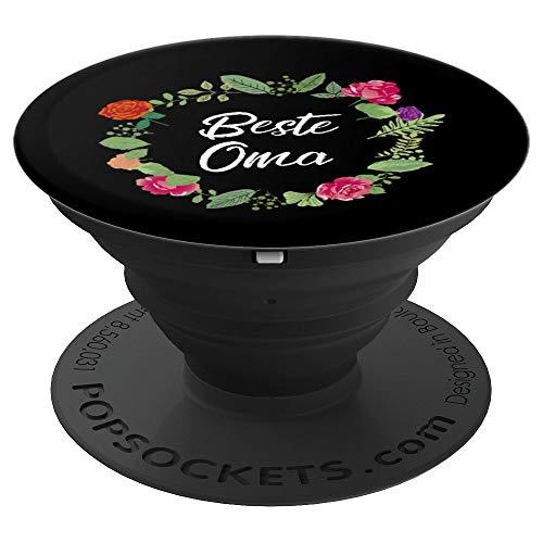 Geschenk für die beste Oma der Welt zum Muttertag - PopSockets Ausziehbarer Sockel und Griff für Smartphones und Tablets