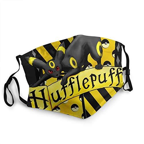 Custom made Símbolo de Hufflepuff máscara de la Cara Reutilizable, pañuelos, pañuelos, pañuelos, protección contra el Polvo, pasamontañas, Protector Facial, Bufanda Escudo para Pesca Ciclismo