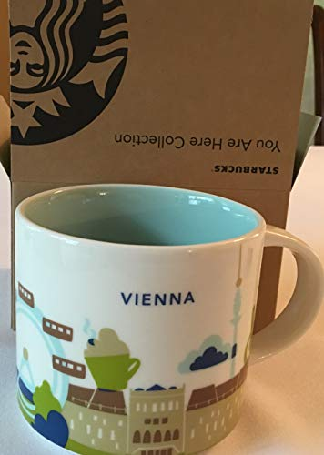 Starbucks City Mug You Are Here Collection Wien Vienna Kaffeetasse Coffee Cup