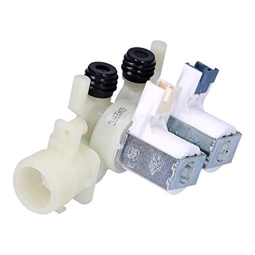 Wessper Válvula doble de lavadorae para Hotpoint-Ariston W9521(E)