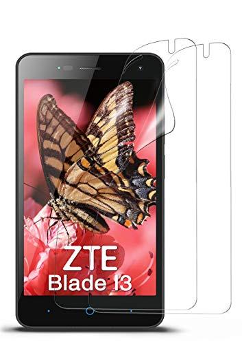MoEx® Kristallklare HD Schutzfolie passend für ZTE Blade L3   Premium Bildschirmfolie - Kratzfest & Fast unsichtbar - Ultra Klar