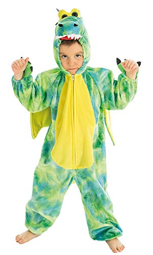 COSTUME DEGUISEMENT DRAGON DINOSAURE TAILLE 4 ANS