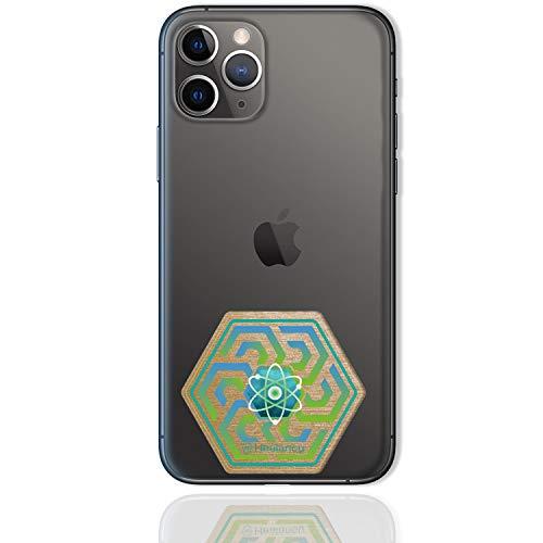 Healancy Biomedical - Protección frente a radiaciones electromagnéticas - Compatible con el móvil iPhone 11 Pro Max 64 GB - Blindaje EMF imprescindible para los usuarios de telefonía múltiple.