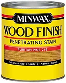 Minwax 70003 Wood Finish Interior Wood Stain, Puritan Pine, Quart by Minwax