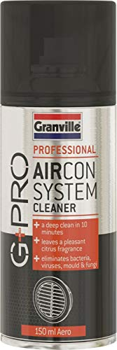 Granville G+PRO Professional 1086 Car AC Air Conditioning Aircon System Cleaner Aerosol Spray Bomb Can **Made In UK**