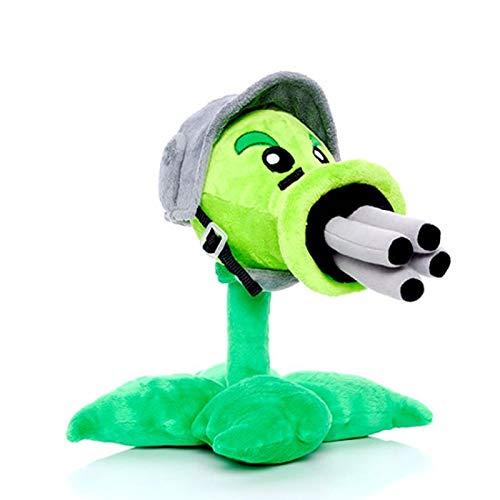 30 cm piante contro zombi Gatling sparasemi giocattoli di peluche bambola gioco piante vs zombi morbido peluche ripiene giocattoli per bambini regalo