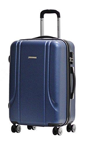 Maleta Talla Media 65cm - ALISTAIR Smart - Abs Extremadamente Ligero - 4 ruedas - Azul