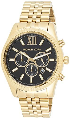 Michael Kors Reloj Cronógrafo para Hombre de Cuarzo con Correa