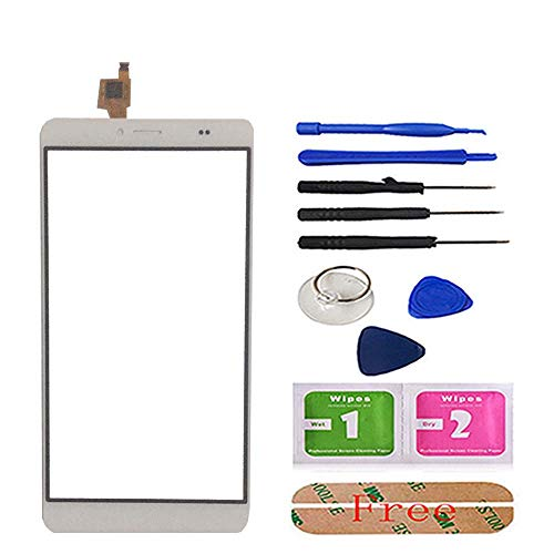 6.0'' Mobile Phone Touch Panel Front Glass for Bluboo Maya Max Touch Screen Digitizer Panel Glass Sensor Tools Adhesive