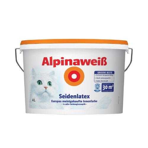 Alpina Weiss Seidenlatex 5 L