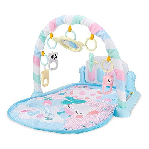 Wildlead Juguetes del bebé,Niños Niños Juguetes del bebé del Estante de la Aptitud Manta de música para Piano Jugar Plastic Intelectual Development ... (2)