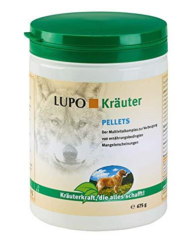 Luposan Kräuter Pellets für Hunde (675 g)