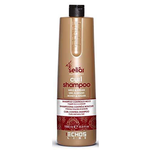 Curl Shampooing Control with honey and Argan Oil 1000 ml Seliar® Shampooing Contrôle bouclés avec Miel et Huile d'Argan