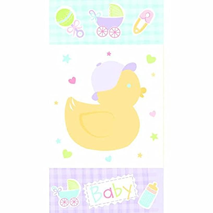Squeaky Cute Rubber Ducky Baby Shower Party Favour Bag, Paper, 10