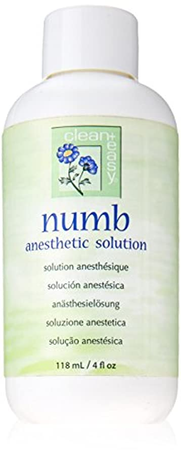 Clean + Easy Numb Anesthetic Solution, 4 Ounce
